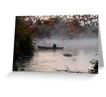 Early Morning on the Lake Greeting Card