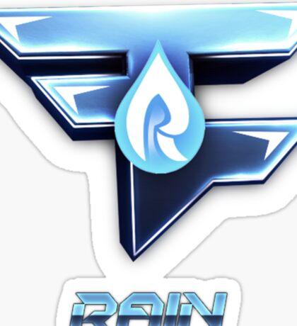 Faze Rain | Old Logo | White Background |  Sticker