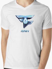 Faze Rain | Old Logo | White Background |  Mens V-Neck T-Shirt
