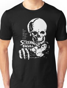Screaming skull poster Unisex T-Shirt