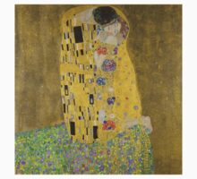 Gustav Klimt's The Kiss Kids Tee