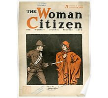 The Woman Citizen Poster