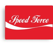 Speed Force Soda Canvas Print