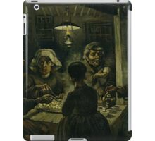 Vincent van Gogh's The Potato Eaters iPad Case/Skin