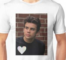 Hayes Grier- trippy heart Unisex T-Shirt