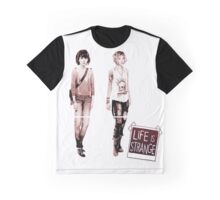 LIFE is STRANGE · T-SHIRT MAX&CHLOE Graphic T-Shirt