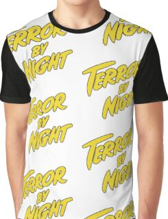 Terror by night title Graphic T-Shirt