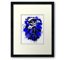Inkling Callie - Navy Framed Print