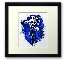 Inkling Marie - Navy Framed Print