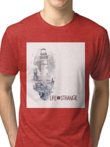 LIFE is STRANGE · T-SHIRT lighthouse Tri-blend T-Shirt