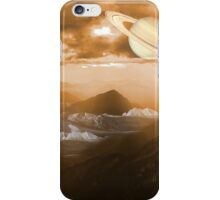 Space landscape iPhone Case/Skin