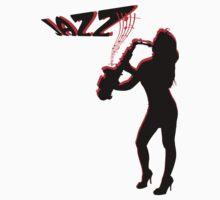 saxophone, jazz Kids Clothes