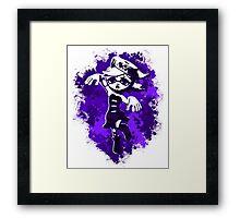 Inkling Marie - Purple Framed Print