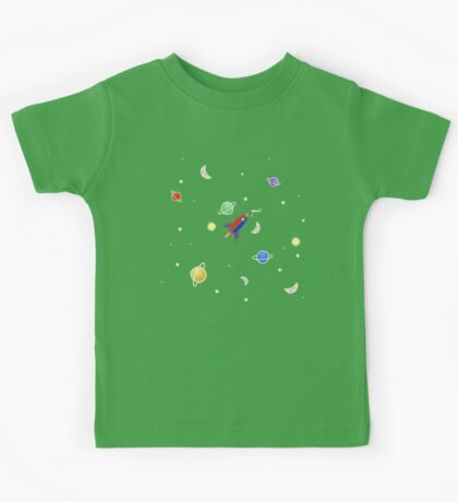I'd Never Find You In Space Kids Tee