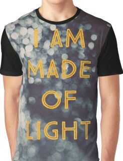 Made Of Light Graphic T-Shirt