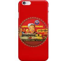Lionel Scale Model trains iPhone Case/Skin