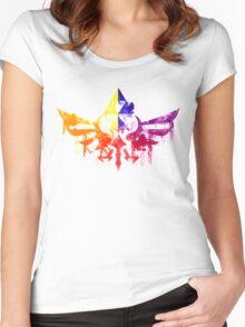 Skyward Rainbow v4 Women's Fitted Scoop T-Shirt