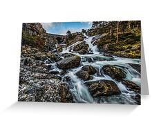 Afon Ogwen  Greeting Card