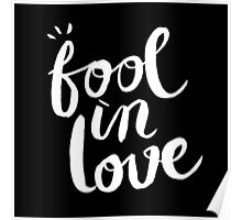 Fool In Love Poster