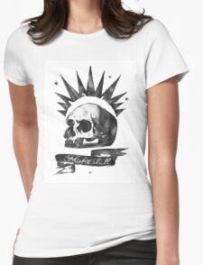 LIFE is STRANGE · Chloe Price's t-SHIRT 'MISFIT SKULL' Womens Fitted T-Shirt