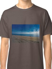 Blue Skies and Brown Sand Classic T-Shirt
