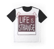 LIFE is STRANGE · T-SHIRT logo Graphic T-Shirt