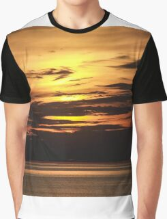 Sunset on the Beach Graphic T-Shirt
