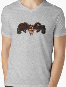 Run Into The Shadow Mens V-Neck T-Shirt