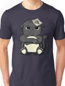 assholes wear fur - cats PETA parody Unisex T-Shirt