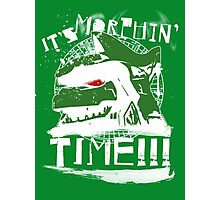 It's Morphin' Time (Green) Photographic Print