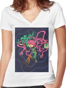 Goon Girl Women's Fitted V-Neck T-Shirt