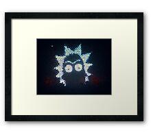 Rick-topolis! Framed Print
