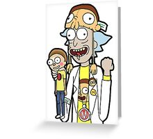 Super Fan Rick Greeting Card