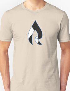Faze Rain | Raindrop Blue, White and Black | Logo | Black Background |  Unisex T-Shirt