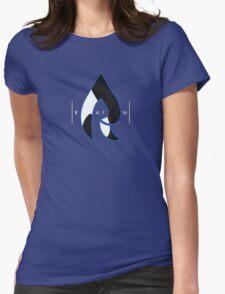 Faze Rain   Raindrop Blue, White and Black   Logo   Black Background    Womens Fitted T-Shirt