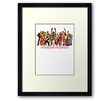 Friends From The Streets Framed Print
