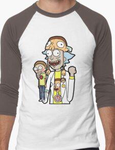 Super Fan Rick Men's Baseball ¾ T-Shirt