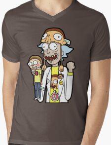 Super Fan Rick Mens V-Neck T-Shirt