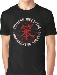 Chinese Medicine Graphic T-Shirt