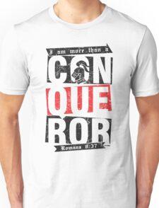Christian T-Shirt: More than a conqueror Unisex T-Shirt