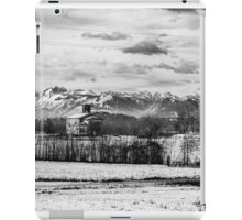 snow on an ancient church of italy iPad Case/Skin