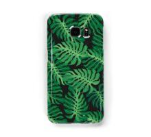 Tropical foliage pattern Samsung Galaxy Case/Skin