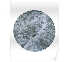 Ocean Waves Photography Poster