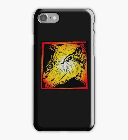 Seductive Goat - Sunset Edition iPhone Case/Skin