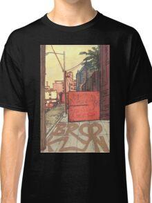 brooklyn sidewalk Classic T-Shirt
