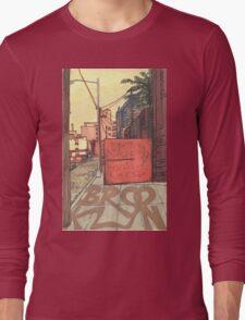 brooklyn sidewalk Long Sleeve T-Shirt