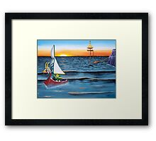 Outset Island Framed Print