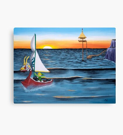 Outset Island Canvas Print