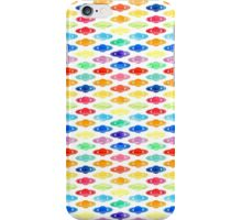 Rainbow Saturns iPhone Case/Skin
