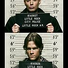 Sam and Dean Mugshots by Emily Deters